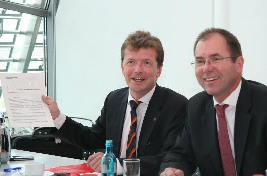 Barth und Kolb präsentieren Konzept in Berlin