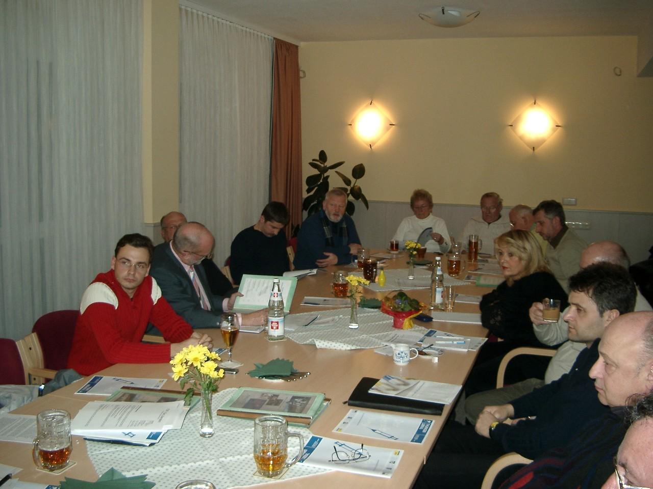 Diskussion in der Regionalkonferenz