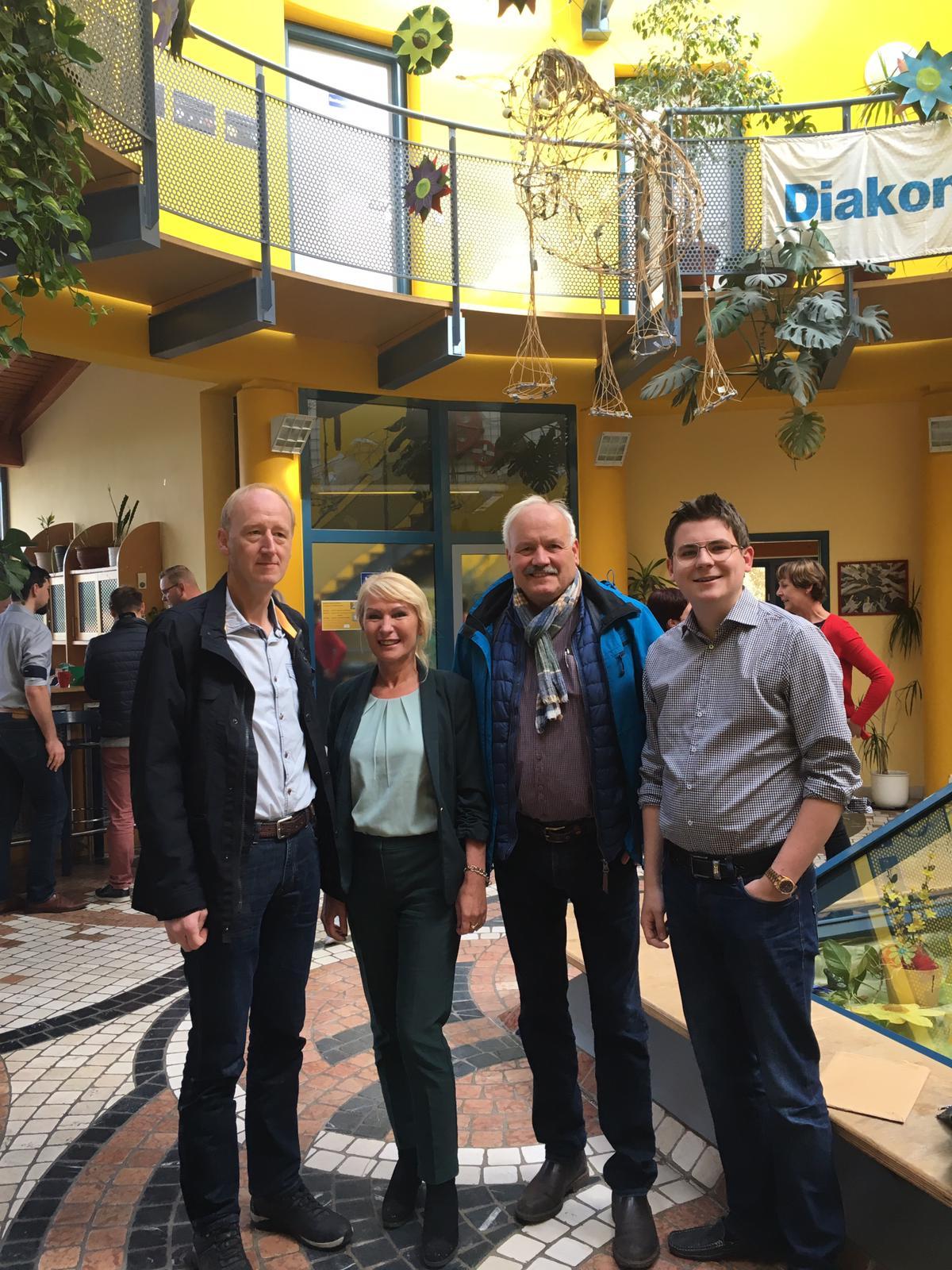 FDP Kandidaten & Vizebürgermeisterin SLF