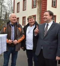 v.l. Joachim Heinecke, Sven Büchner, Dr. Kania