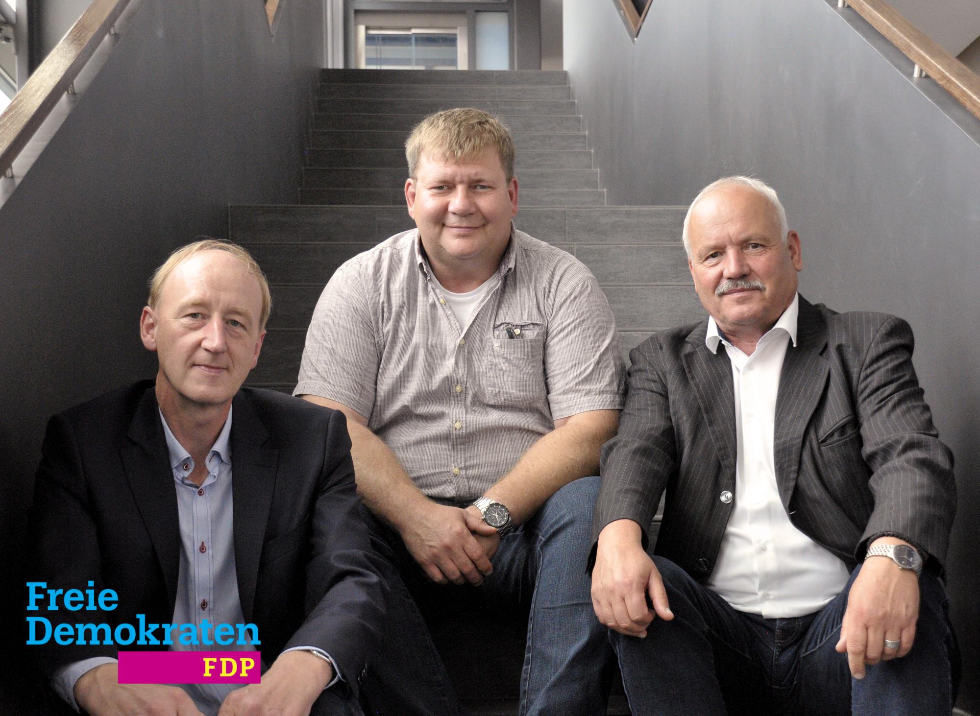 Jürgen Bohr, Sven Büchner, Joachim Heinecke