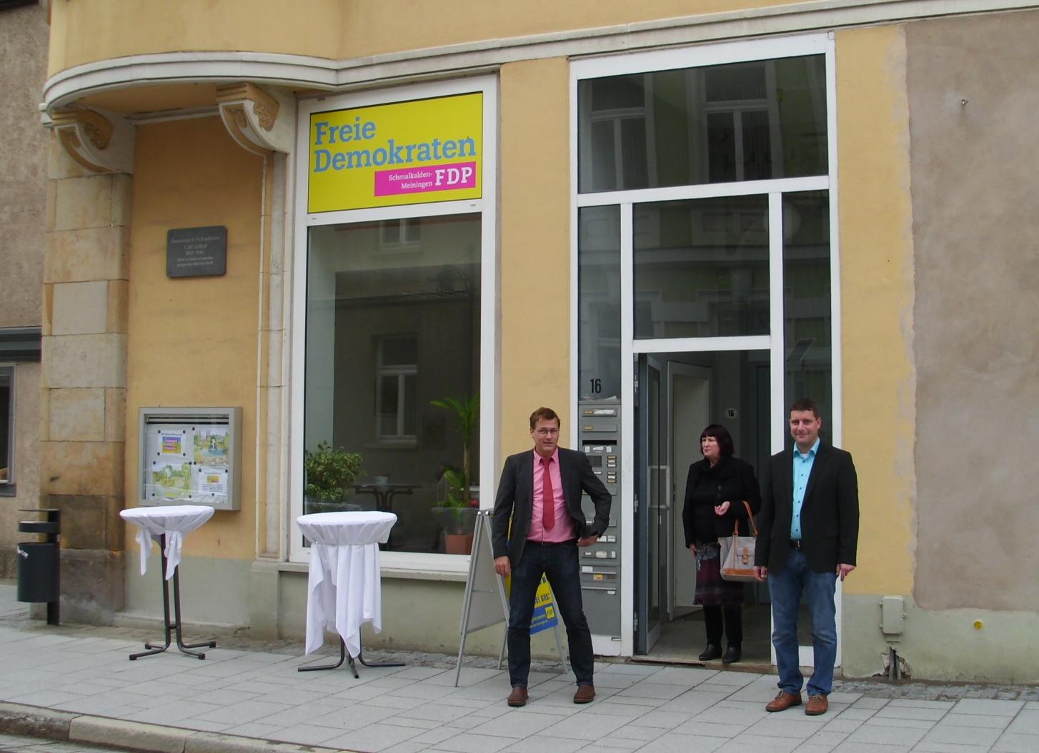 Büroeröffnung in Meiningen