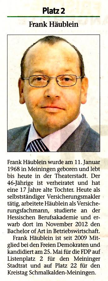 Frank Häublein