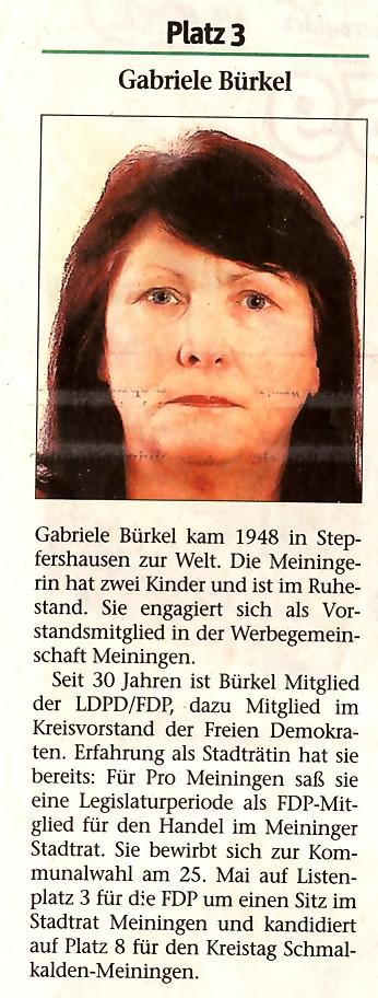 Gabriele Bürgel