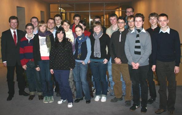 Besuchten den Deutschen Bundestag