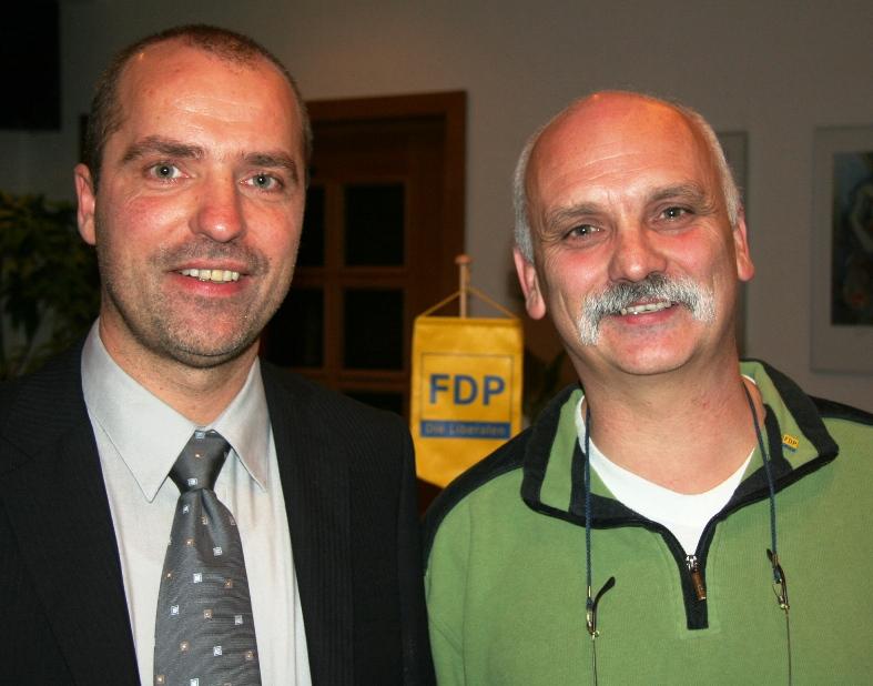 Marian Koppe und Ecki Linke
