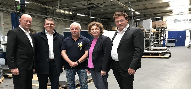 Nicola Beer in Thüringen: Generalsekretärin und EU-Spitzenkandidatin zu Gast im thüringischen Laasdorf