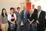 Südtiroler Landtagspräsident Mauro Minniti mit Delegation aus Thüringen