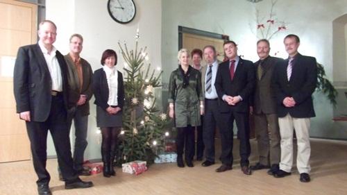 Kreisverband mit Patrick Kurth, MdB + Dr. C. Klein