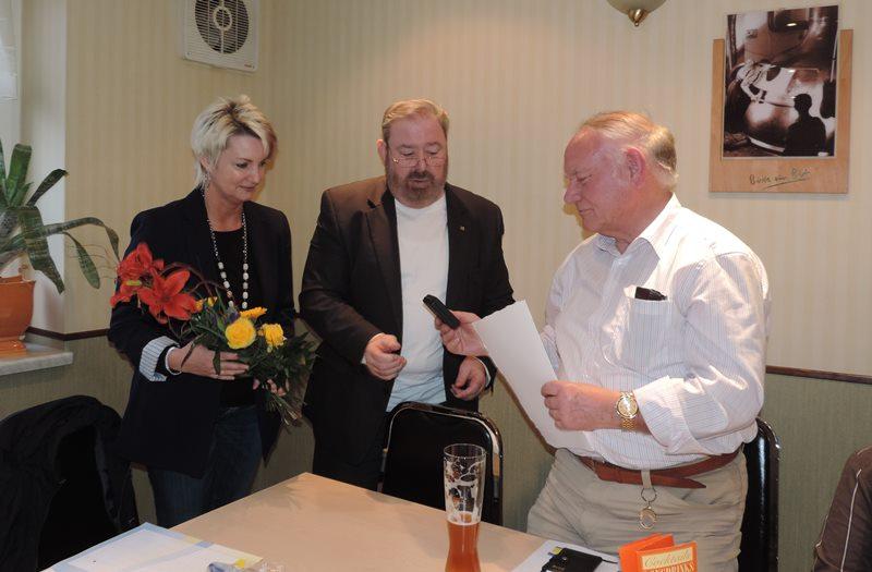 Karola Strien, Heinz Untermann und Klaus Gassmann