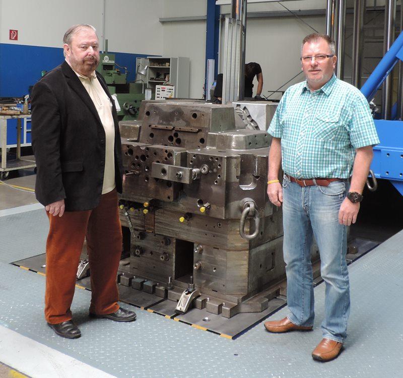 Heinz Untermann, MdL mit Matthias Huke