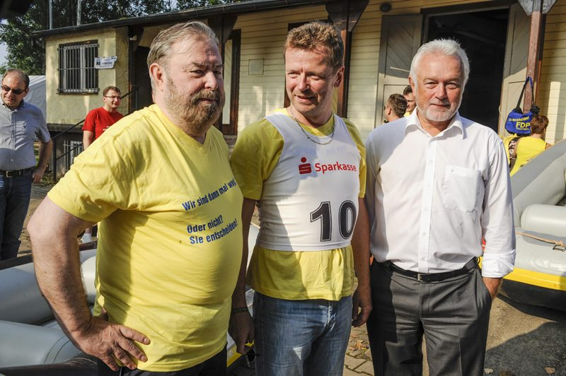 Heinz Untermann, Uwe Barth, Wolfgang Kubicki