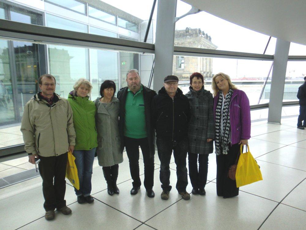Bürger aus Sömmerda zu Besuch im Bundestag