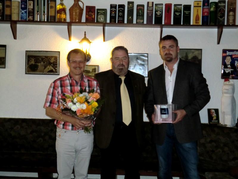 Norbert Kresse - Buttstädt, Heinz Untermann, MdL, Peter Liebe - Gebesee