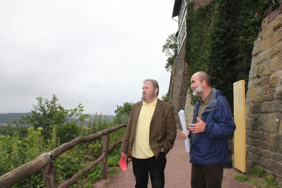 H. Untermann (MdL) und Bürgermeister Martin Trost