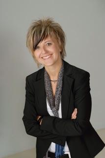 Direktkandidatin Sandra Scherf-Michel