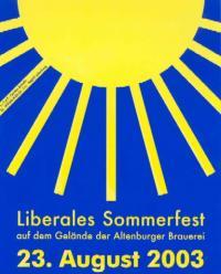 Liberales Sommerfest und Kampagnenstart