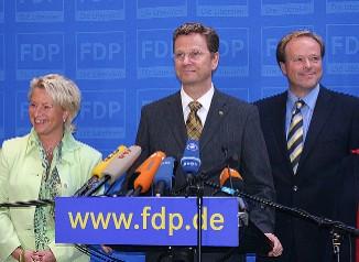FDP: begeistert von Machtwechsel und für Neuwahlen