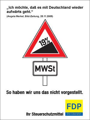 FDP klar gegen Mehrwertsteuer