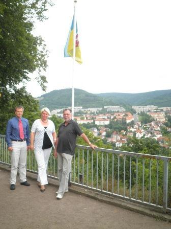 Dr. Jens Triebel, Franka Hitzing, Michael Spörer