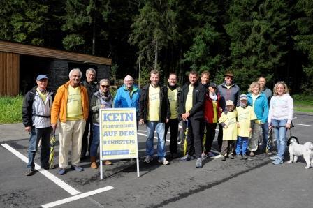 Liberaler Protest gegen Pumpspeicherwerk