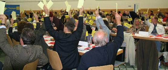 Regionalkonferenzen stimmen Programmatik ab