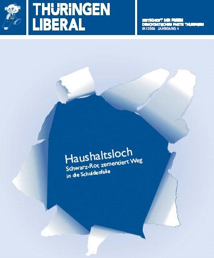 Neue Ausgabe Thüringen Liberal