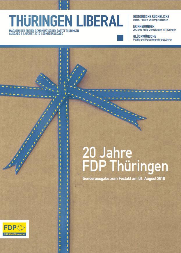 Sonderausgabe der Thüringen Liberal