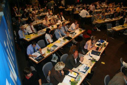 Die Thueringer Delegierten
