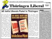 Die neue Thüringen Liberal