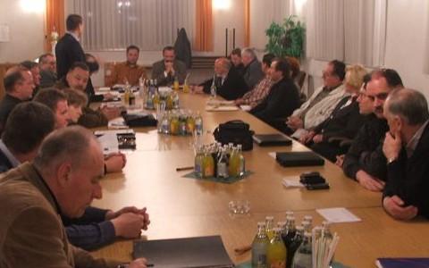 Sitzung im vollem Bürgersaal