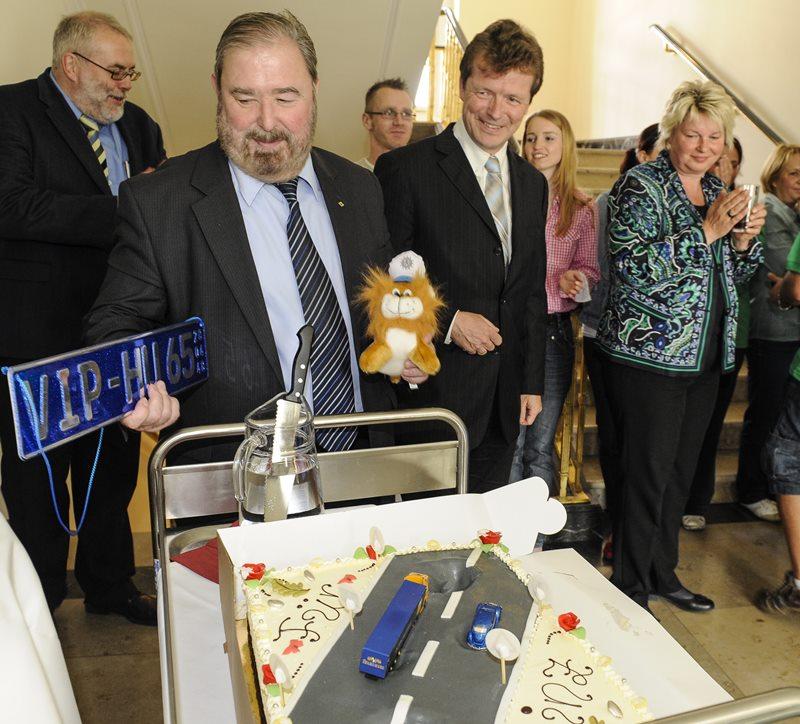 """Ausstellung zur """"Sternfahrt der Vernunft"""" im Landtag eröffnet"""