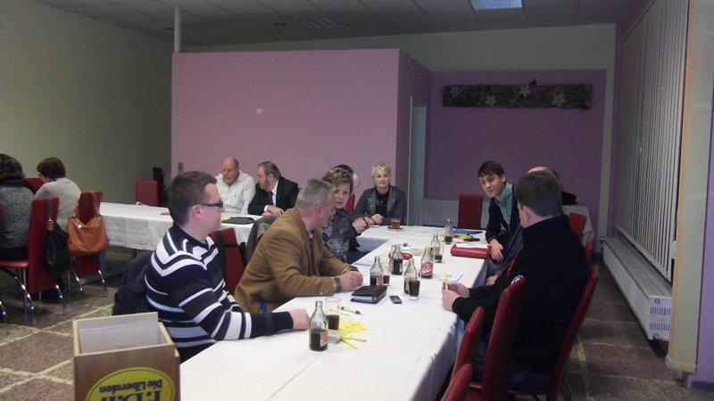 Neu gewählter Vorstand im Kreisverband Sömmerda