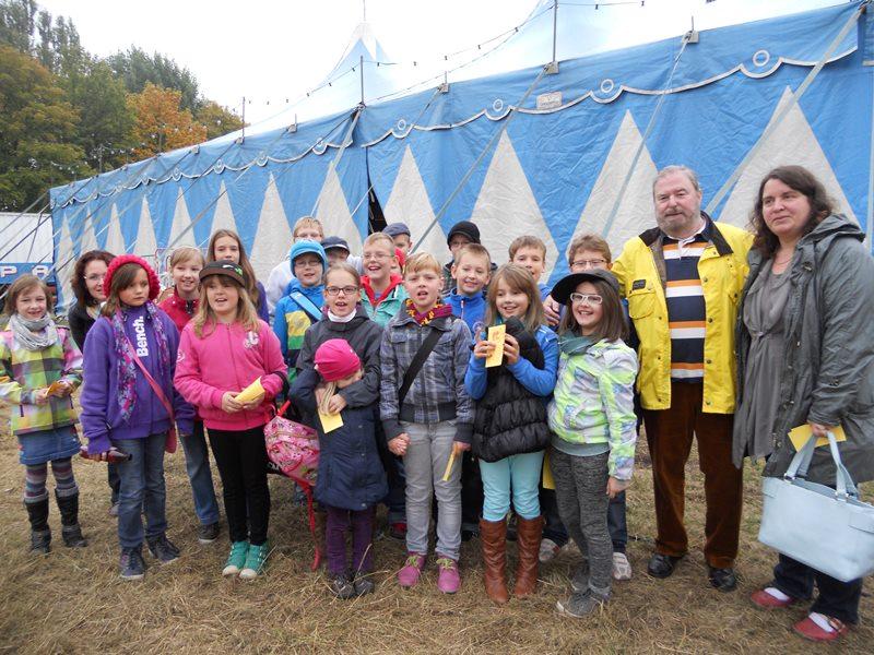 Zirkus-Freikarten für Schulkinder der Lindenschule