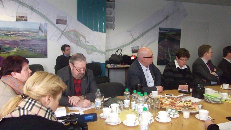 Baustellenbesichtigung A 71 – Anschluss Sömmerda bis Ende 2014