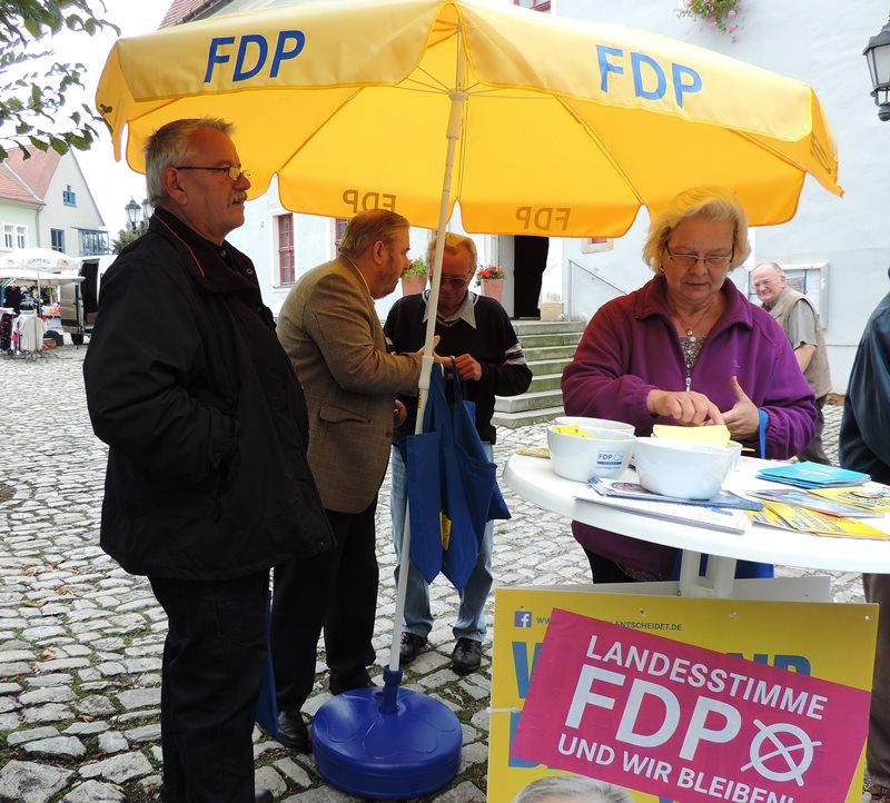 Wahlkampf in Buttstädt