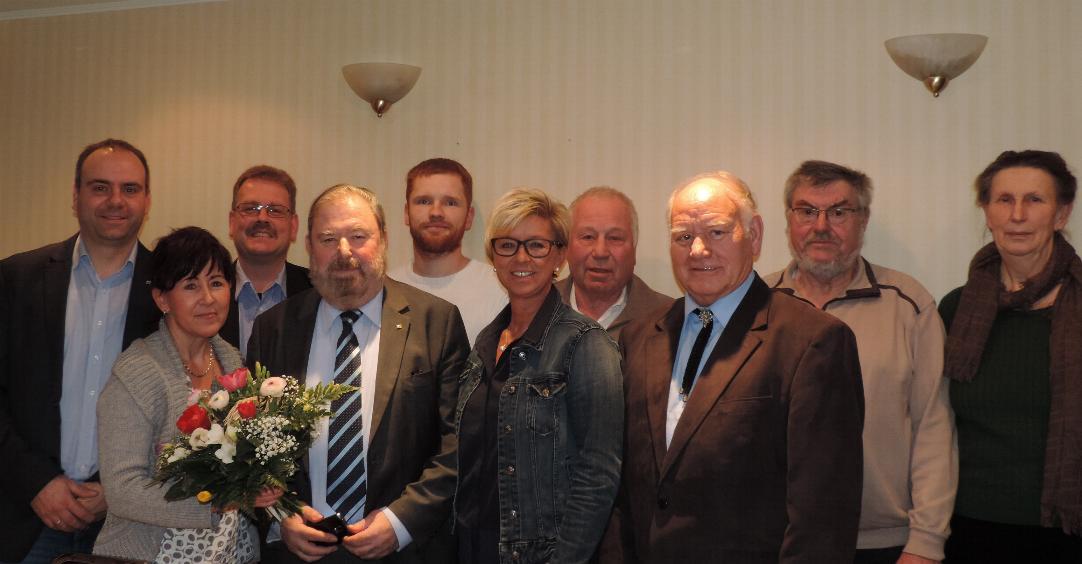 Heinz Untermann wieder gewählt
