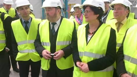 Untermann begleitete Ministerpräsidentin Lieberknecht nach Frankreich
