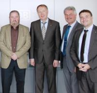 (v.l.n.r.): Untermann, Kaczmarek, Hädrich, Kurth