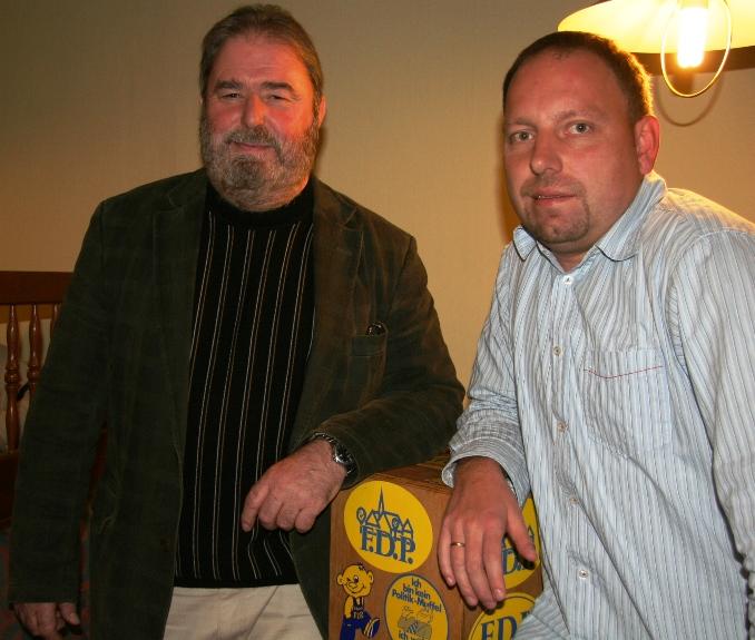 Heinz Untermann und Jörg Fischer