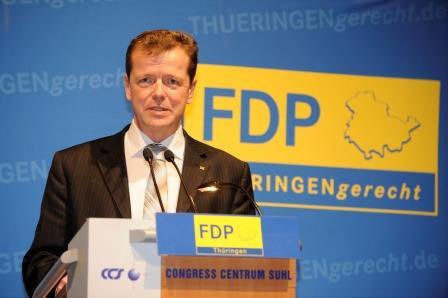 Landesvorsitzende Uwe Barth, MdL