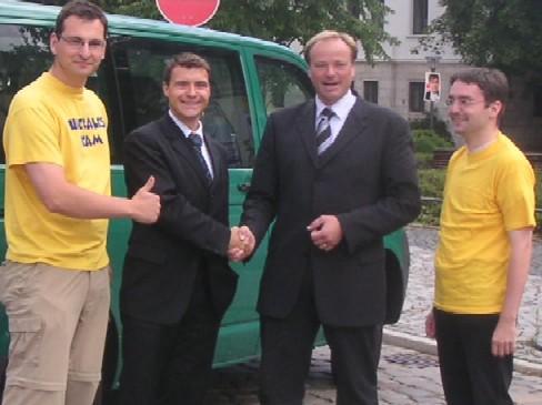 Tourenstarts: Generalsekretäre und Junge Liberale