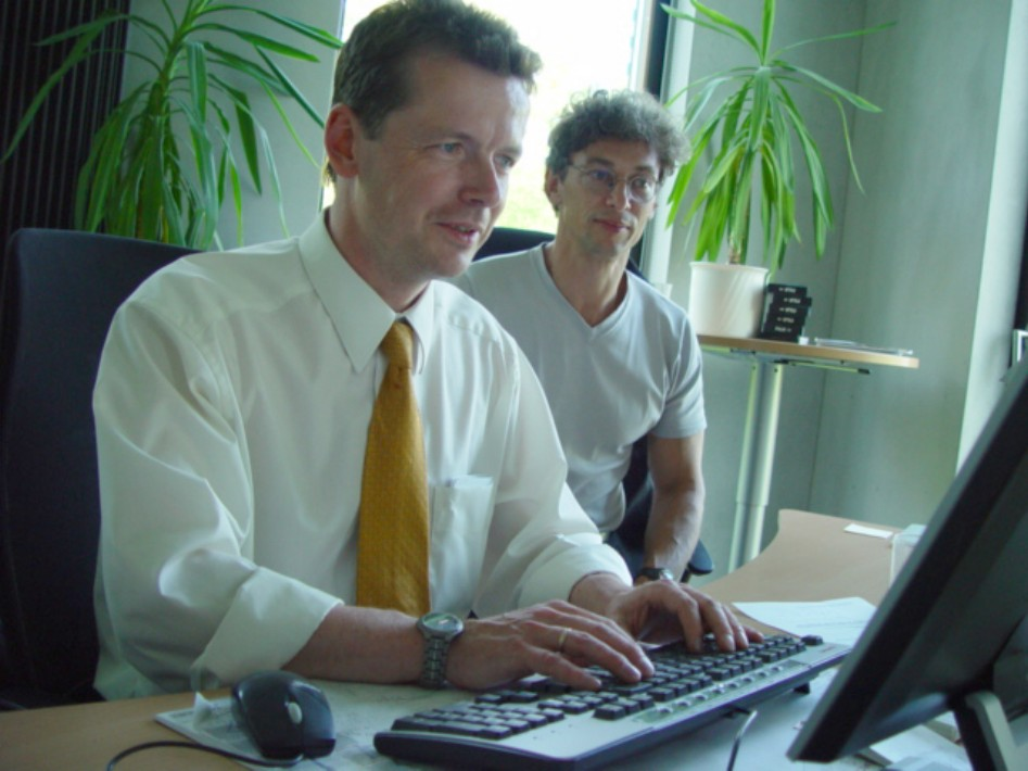 Barth und der MDR-Onlineredakteur beim Chat