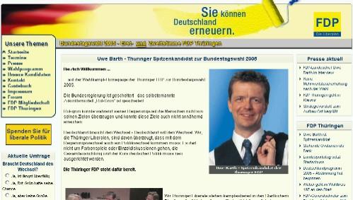 2005.fdp-thueringen.de ist online