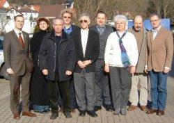 Wartburgkreis wählte Dr. Bohn (4.v.l.)