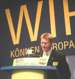 Volker Weber auf dem Europatag