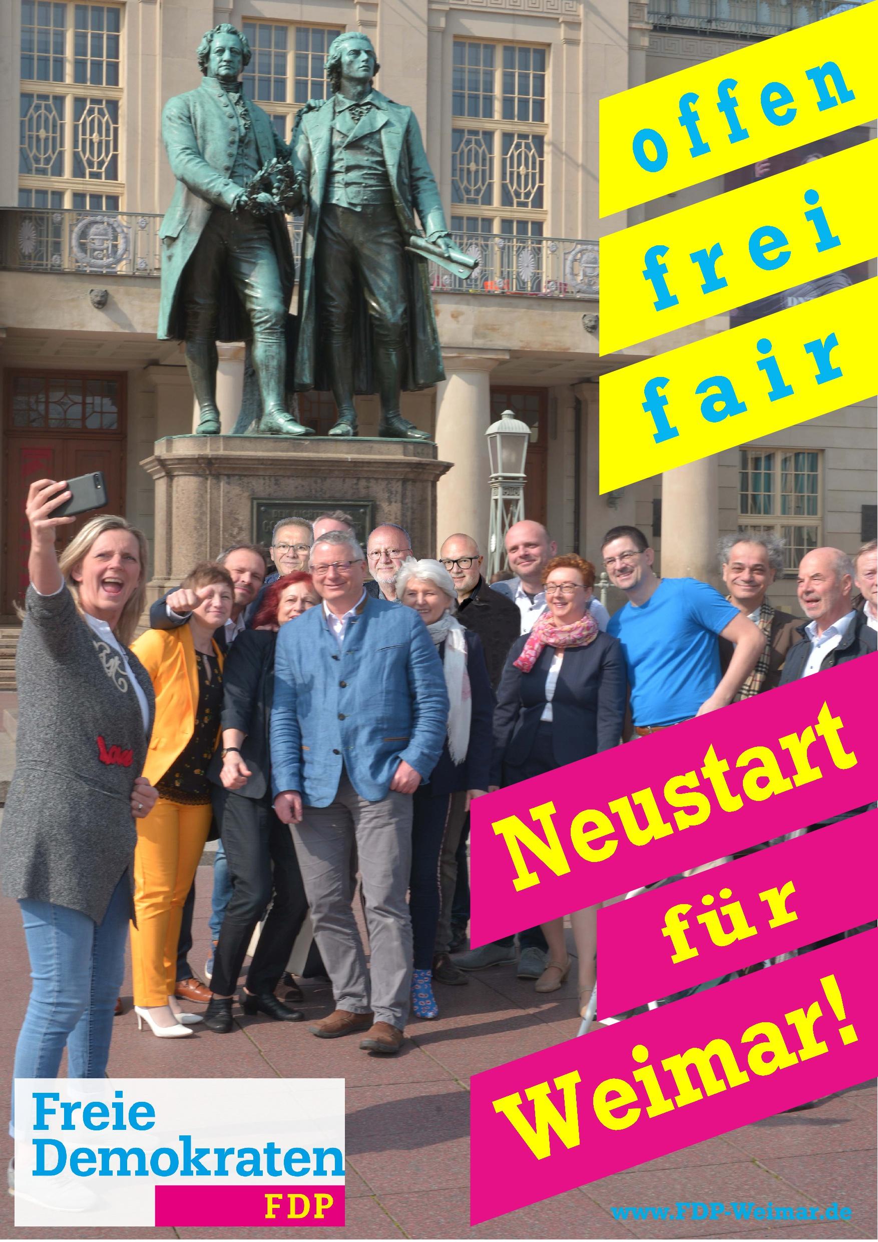 Neustart für Weimar!