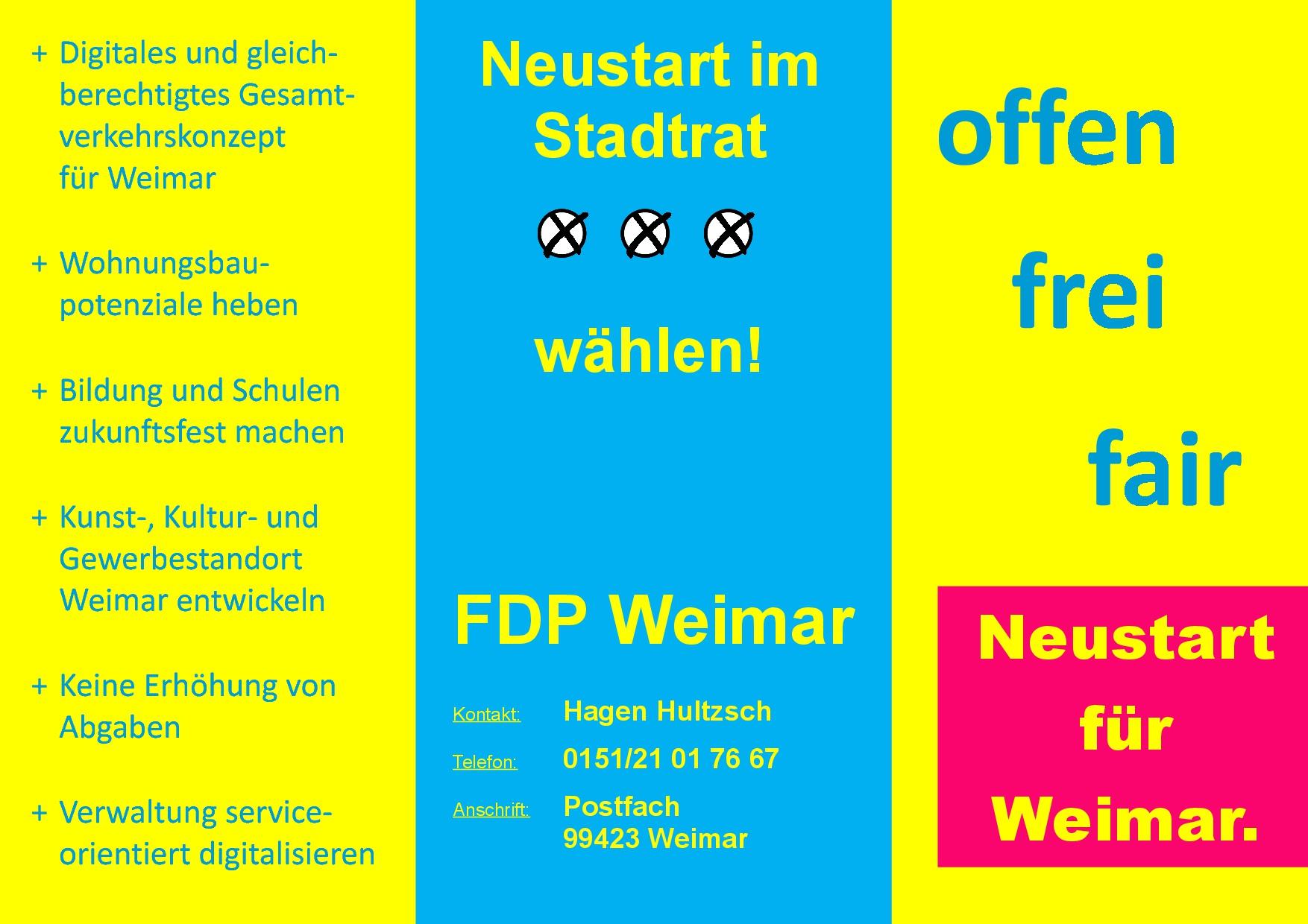 Fdp Thüringen Wahlprogramm