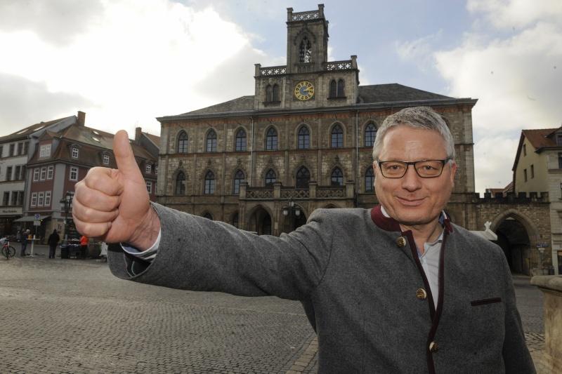 Hagen Hultzsch tritt an für die Rathausspitze