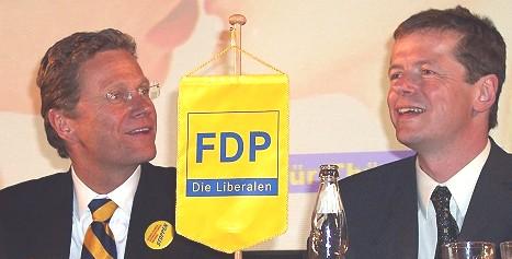 Redner zum Bundeskongress: Westerwelle und Barth